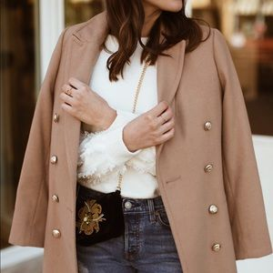 Harve Benard Camel Coat